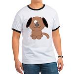 Brown Puppy Ringer T