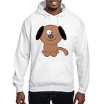 Brown Puppy Hooded Sweatshirt