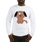 Brown Puppy Long Sleeve T-Shirt