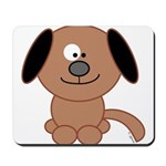 Brown Puppy Mousepad