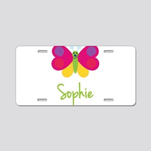 Sophie The Butterfly Aluminum License Plate