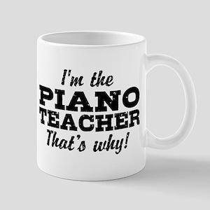 Funny Piano Teacher Mug