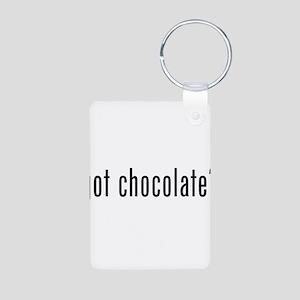 Got Chocolate? Aluminum Photo Keychain