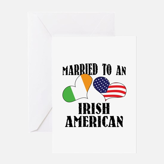 Married Irish American Greeting Card