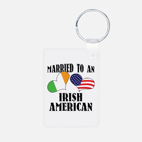 Married Irish American Keychains