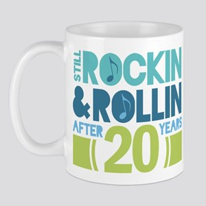 20th Anniversary Rock N Roll Mug