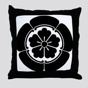 Oda Mokkou(B) Throw Pillow