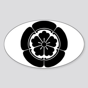 Oda Mokkou(B) Sticker (Oval)