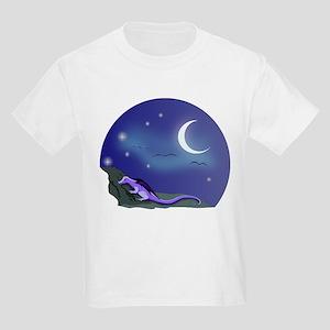Sleepy Dragon - Kids Light T-Shirt