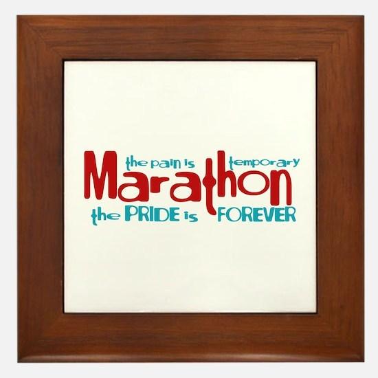 Marathon- The Pride is Forever Framed Tile
