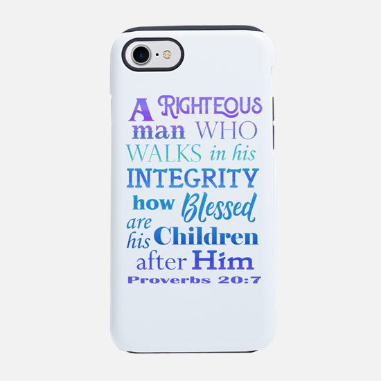 Proverbs 20 iPhone 7 Tough Case