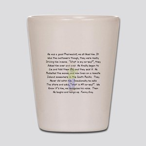 Story Art Shot Glass