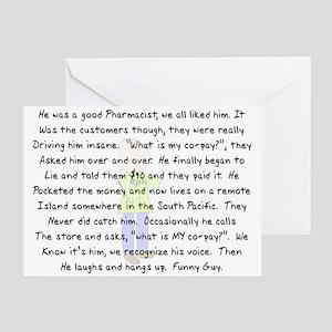 Story Art Greeting Card