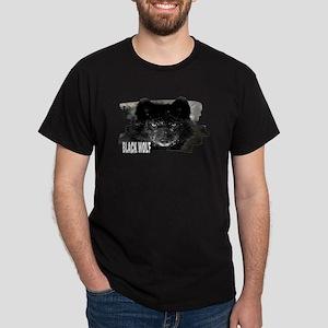 black wolf Dark T-Shirt