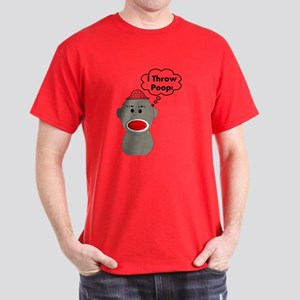 Sock Monkey Dark T-Shirt