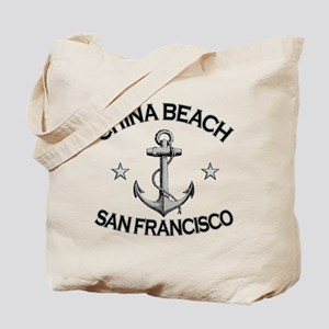 China Beach, California Tote Bag