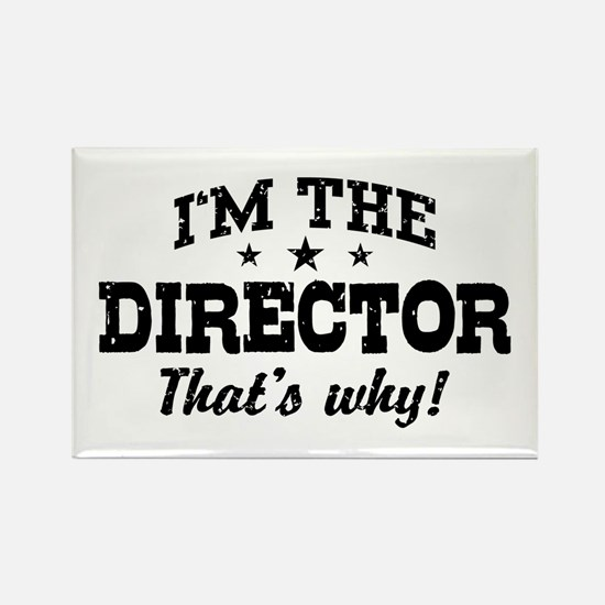Director Rectangle Magnet