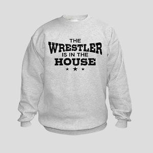 Funny Wrestler Kids Sweatshirt