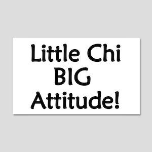 Little Chi, Big Attitude 22x14 Wall Peel