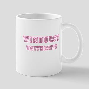 Windurst University Pink Mug