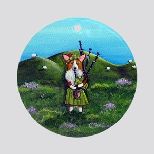 Dressed To Kilt II Ornament (Round)