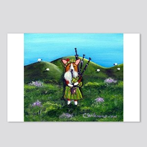 Dressed To Kilt II Postcards (Package of 8)