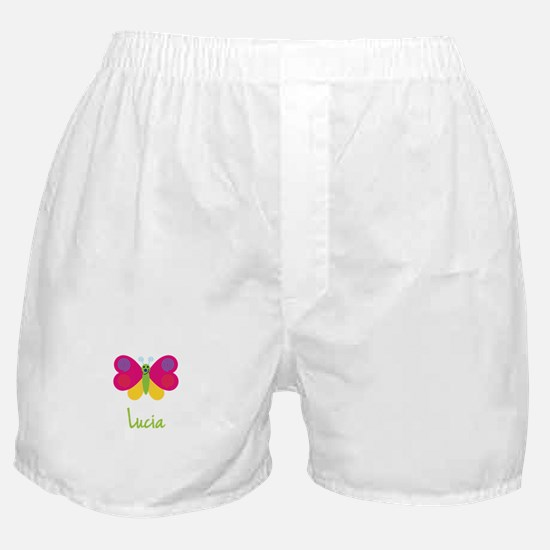 Lucia The Butterfly Boxer Shorts