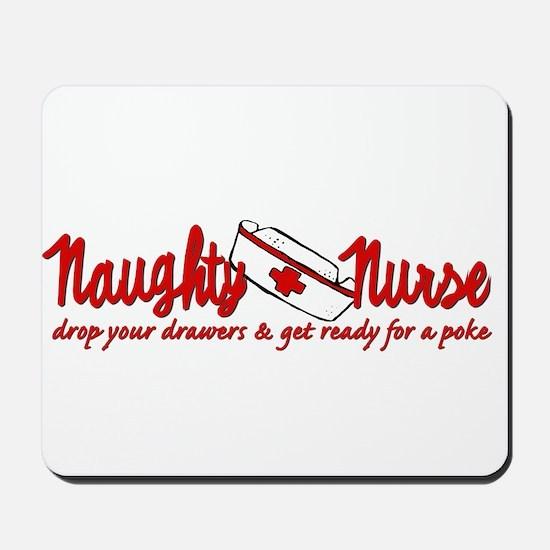 Naughty Nurse Mousepad