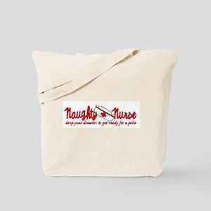 Naughty Nurse Tote Bag