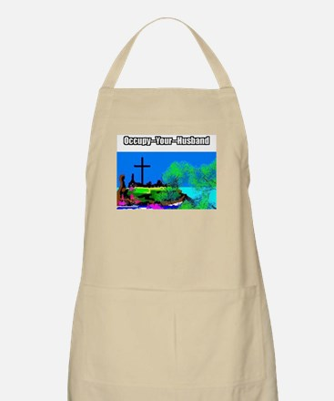 Occupy Your Husband Apron