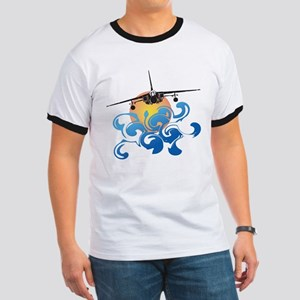 """RC Aviation """"Fire in the Sky"""" Ringer T"""