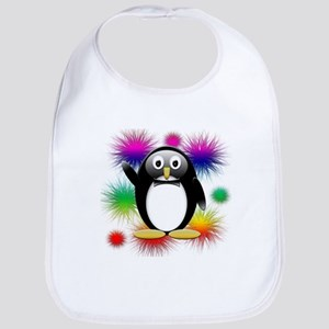 Penguin splash Bib