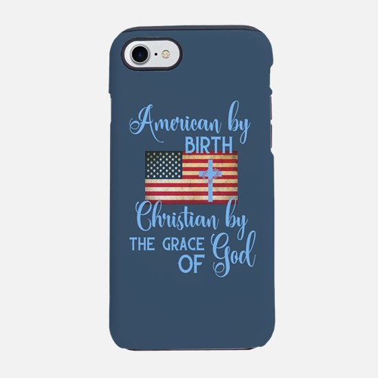 Christian American iPhone 7 Tough Case