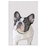 French Bulldog (Brindle Pied) Large Poster