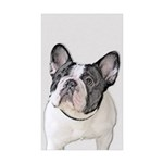 French Bulldog (Brindle Sticker (Rectangle 10 pk)