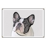French Bulldog (Brindle Pied) Banner