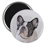 French Bulldog (Brindle Pied) Magnet