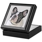 French Bulldog (Brindle Pied) Keepsake Box