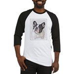 French Bulldog (Brindle Pied) Baseball Jersey