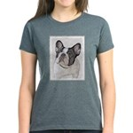 French Bulldog (Brindle Pied) Women's Dark T-Shirt