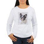 French Bulldog (Brindl Women's Long Sleeve T-Shirt
