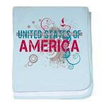 America baby blanket