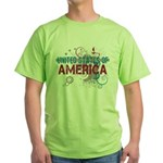 America Green T-Shirt