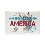 America Rectangle Magnet (100 pack)