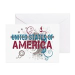 America Greeting Cards (Pk of 20)