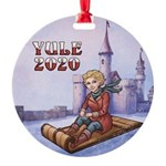 Yule 2020 Collectable Round Ornament