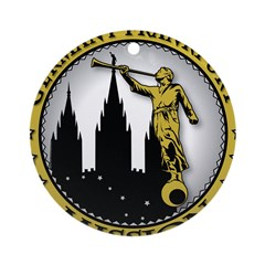 Germany Frankfurt LDS Mission Ornament (Round)
