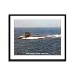 USS JAMES K. POLK Framed Panel Print