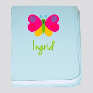 Ingrid The Butterfly baby blanket