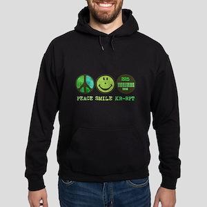 Peace Smile 225 Hoodie (dark)